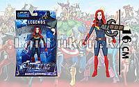 Фигурка героя шарнирная Черная вдова (Black Widow)