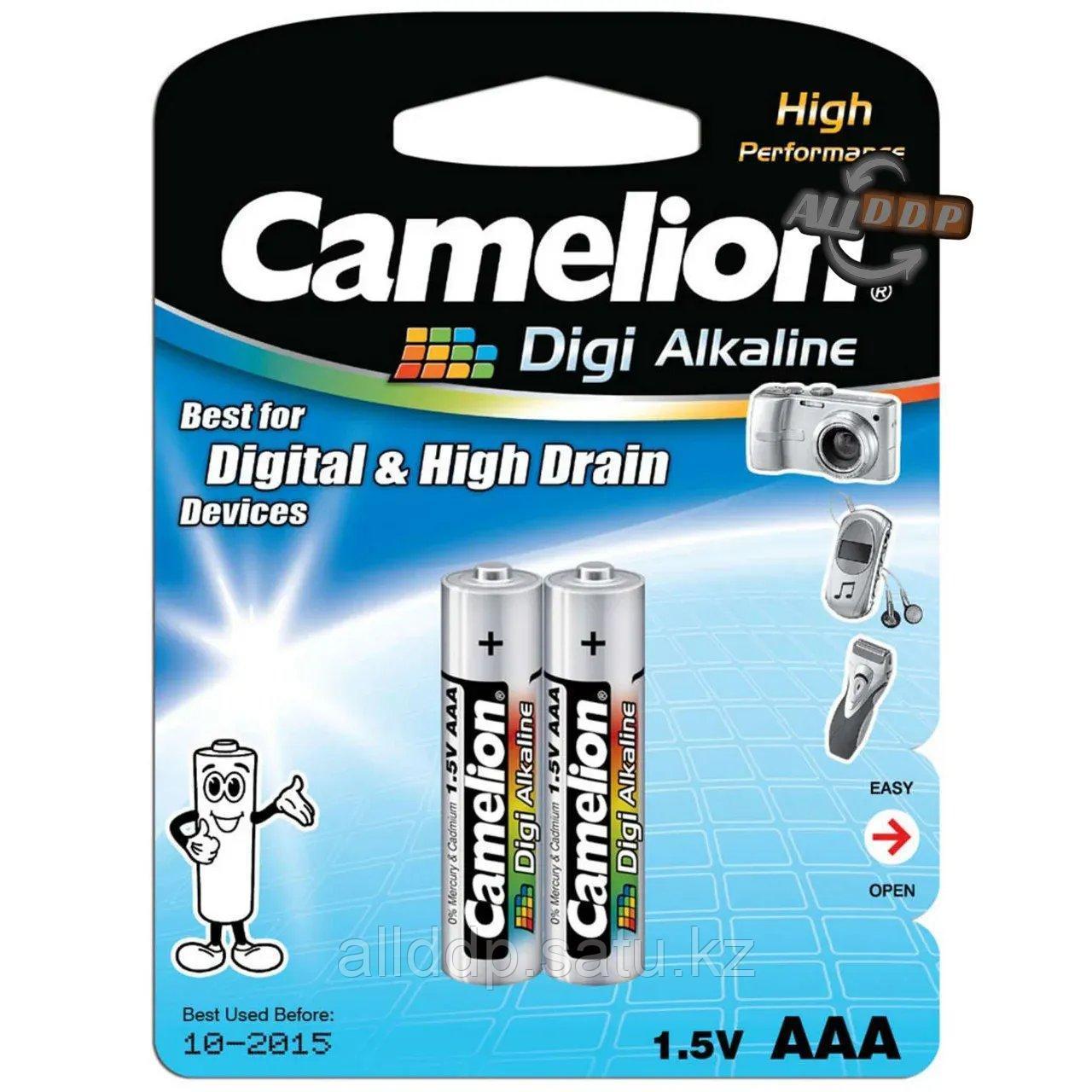 Батарейка Camelion Digi Alkaline 1.5V AAA