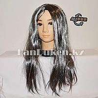 Парик ведьмы с седыми волосами 55 см