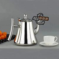 Чайник заварочный с ситом и удобной ручкой для чая и кофе из нержавеющей стали 1,8 л Kashi kettle Xiong Qiang