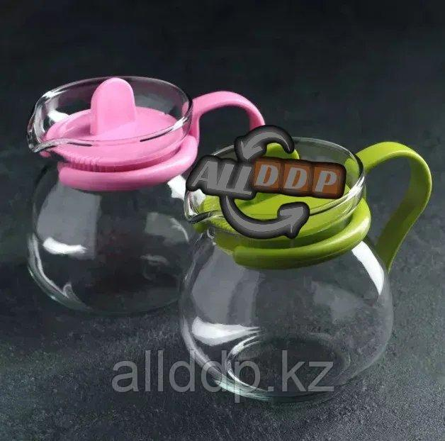 Заварочный чайник Glass tea pot 0.45 л стеклянный в ассротименте