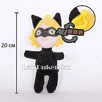 Мягкая игрушка брелок Супер Кот (Леди Баг и Супер Кот Miraculous Ladybug) 20 см