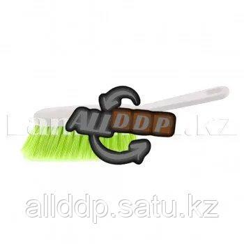 Щетка-сметалка салатовая с ручкой 27 см ELFE 93554 (002)
