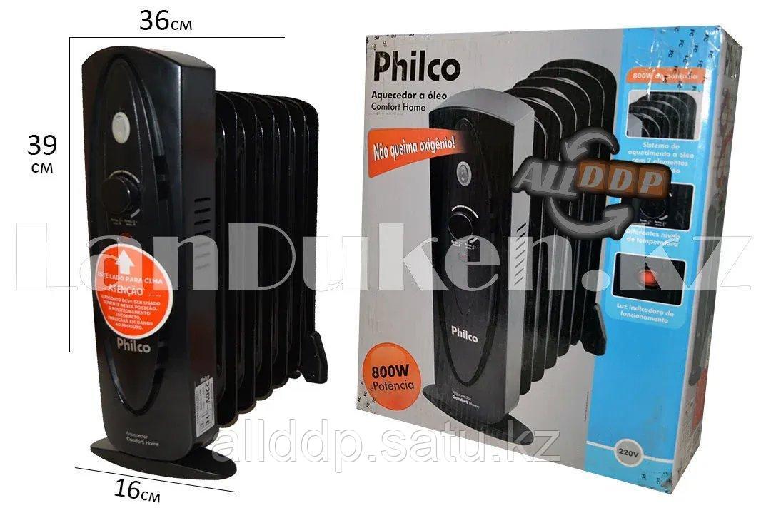 Масляный радиатор Philco 7 секций черный