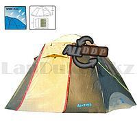 Пятиместная палатка автомат водонепроницаемая двухслойная 250*220*170 см Арктика 268- 5 Person tent