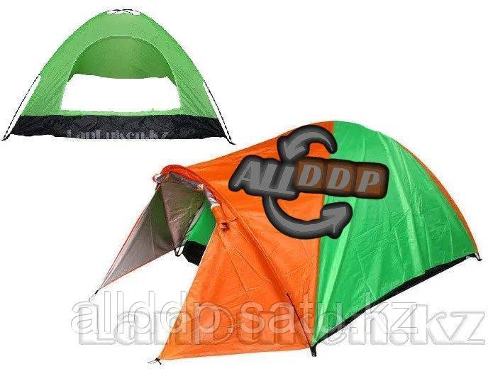 Четырехместная палатка с полом + тент 210*240*150 mm Hanlu HL-2768 - фото 1