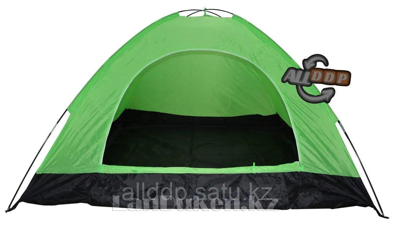 Четырехместная палатка с полом + тент 210*240*150 mm Hanlu HL-2768 - фото 3