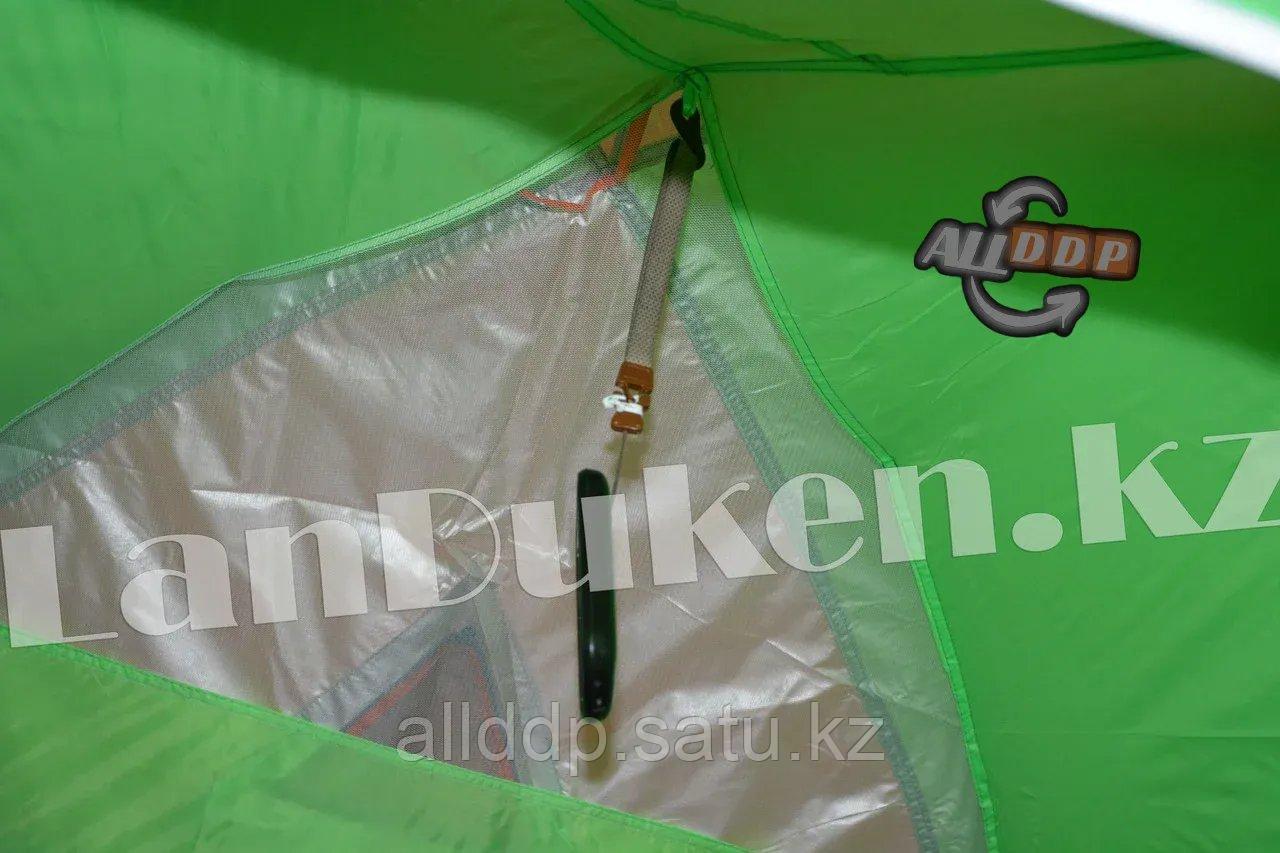 Четырехместная палатка с полом + тент 210*240*150 mm Hanlu HL-2768 - фото 8
