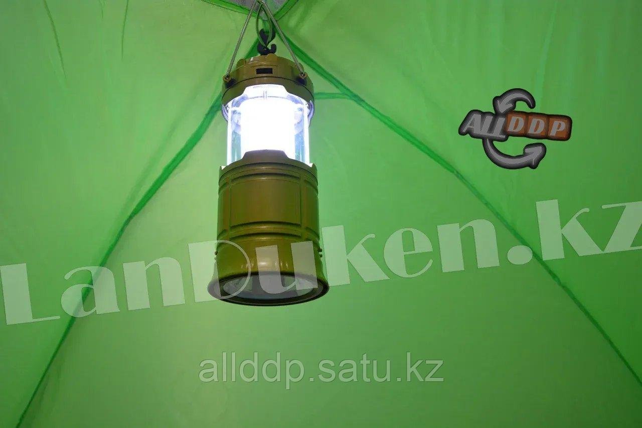 Четырехместная палатка с полом + тент 210*240*150 mm Hanlu HL-2768 - фото 9