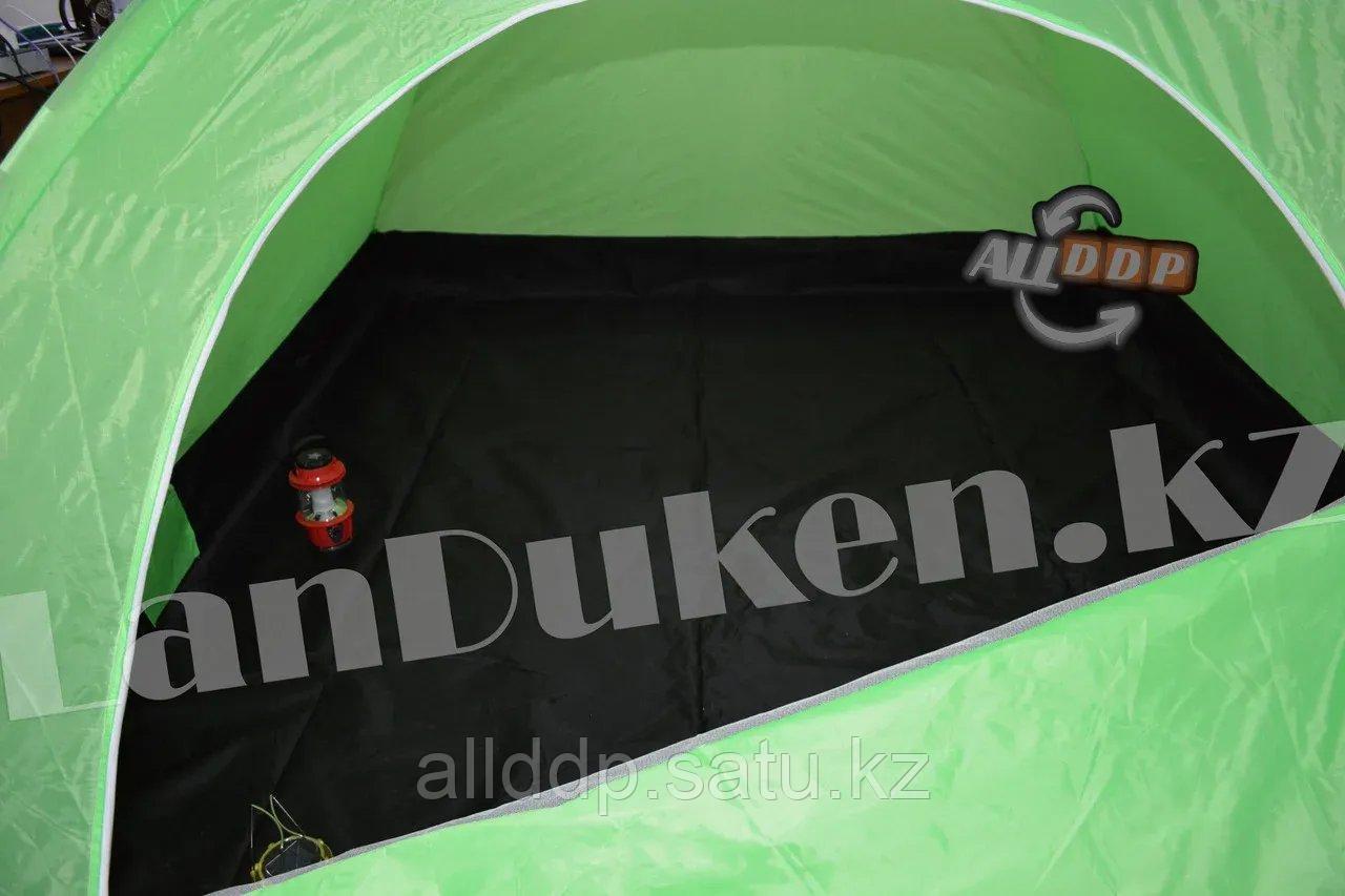Четырехместная палатка с полом + тент 210*240*150 mm Hanlu HL-2768 - фото 10
