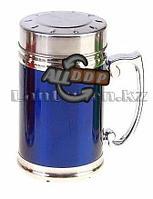 Термокружка Gentry Cup 420мл c ситом Синий