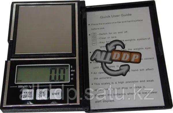 Электронные портативные ювелирные весы с чехлом АТР138