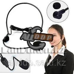 Головной проводной микрофон разъем для компьютера и телефона