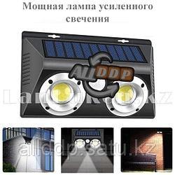 Светодиодная лампа на солнечной батарее с датчиком движения lampx2 - LF1625 (уличное освещение)