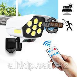 Светодиодная лампа на солнечной батарее с датчиком движения беспроводная с 3 режимами работы 200 W CL-977T
