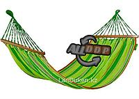 Гамак с деревянными планками 200 на 100 см PALISAD CAMPING 69586 (002)