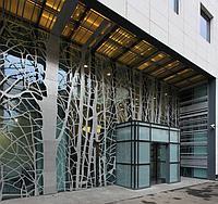 Архитектурный фасадный декор из металла