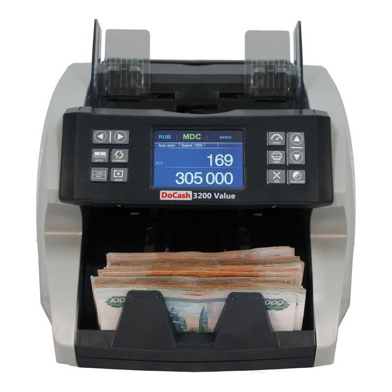 Счетчик банкнот с сортировкой DoCash 3200 (однокарманный) - фото 2