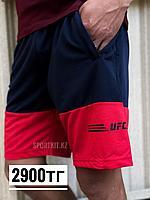 Шорты UFC сине красные, фото 1