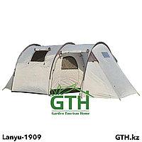 Четырехместная палатка Lanyu-1909. Двухслойная, швы проклеены.