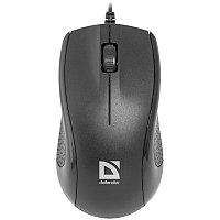 Мышь Defender Optimum MB-160, USB, черный, 3btn+Roll
