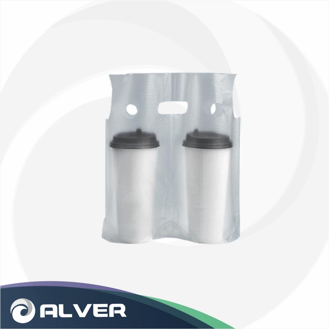 Держатель/пакет-переноска для стаканов