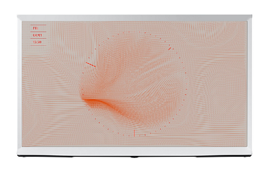 Телевизор SAMSUNG The SERIF QE43LS01TAUXRU Smart 4K QLED