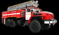 Пожарные автолестницы (АЛ) АЦЛ-6,0-18 НА ШАССИ УРАЛ-4320