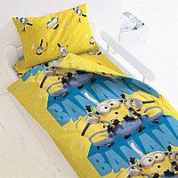 """Комплект постельного белья """"Миньоны 2"""" Банана"""