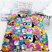 """Комплект постельного белья """"Adventure time"""" Время приключений"""