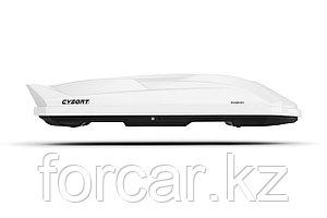 Автобокс Cybort Inception 480 л. белый глянец 206х86х40