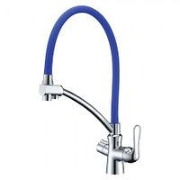 Смеситель LEMARK Comfort LM3070C-Blue для кухни с подключением к фильтру (LM3070C-Blue)