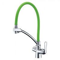 Смеситель LEMARK Comfort LM3070C-Green для кухни с подключением к фильтру (LM3070C-Green)