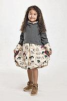 Платье туника с капюшоном Lily . Всесезонная и сверхпрактичная модель!