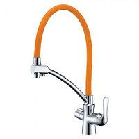 Смеситель LEMARK Comfort LM3070C-Orange для кухни с подключением к фильтру (LM3070C-Orange)