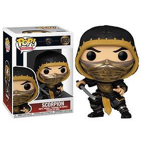 Funko Pop Scorpion - Mortal Kombat - 1055 (в наличии в тц Евразия)