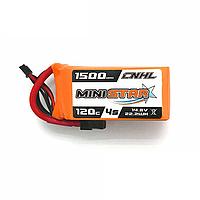 Аккумулятор Li-PO 4S 1500 мАч 120C CNHL MINISTAR