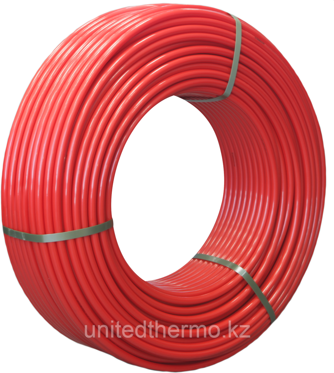 Труба 16x2.0 мм для теплого пола Varmega PE-RT/EVOH многослойная, цвет красный VM30301