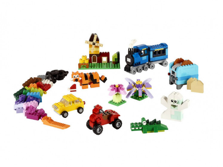 LEGO Classic 10696 Набор для творчества среднего размера, конструктор ЛЕГО - фото 3