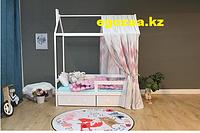 Детская кровать Tomix Galaxy Белая