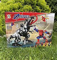Конструктор Человек Паук и Веном аналог Лего