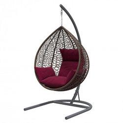 Подвесные кресла-коконы из ротанга