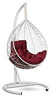 Подвесное кресло-кокон SEVILLA комфорт белое