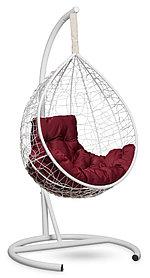 Подвесное кресло-кокон SEVILLA белое