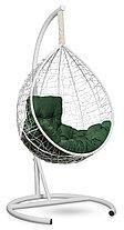 Подвесное кресло-кокон SEVILLA комфорт белое, фото 2