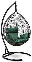 Подвесное кресло-кокон SEVILLA коричневое, фото 2
