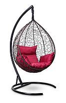 Подвесное кресло-кокон SEVILLA коричневое, фото 3