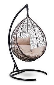 Подвесное кресло-кокон SEVILLA коричневое