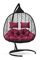 Подвесное кресло-кокон SEVILLA TWIN черное