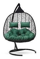 Подвесное кресло-кокон SEVILLA TWIN черное, фото 2